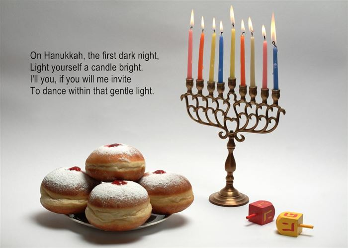 Meaningful Maccabee Happy Hanukkah Acrostic Poems