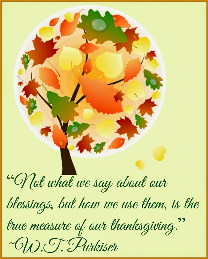 Cute Happy Thanksgiving Quotes For Loved One