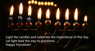 Short Happy Hanukkah Quotes For Kids