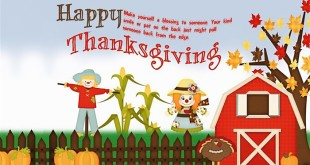 Short Happy Thanksgiving Day Quotes For Kids