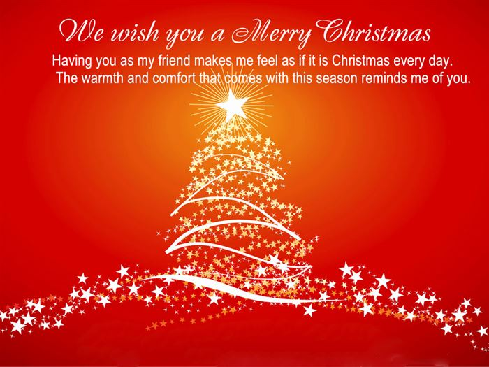 Inspirational Merry Christmas Card Messages For Family