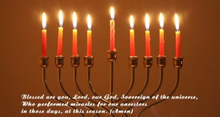 Blessing Jewish Happy Hanukkah Prayer In English