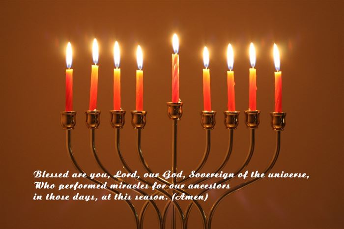 Best Blessing Jewish Happy Hanukkah Prayer In English