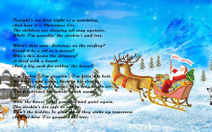 Free Funny Merry Christmas Poems For Cards