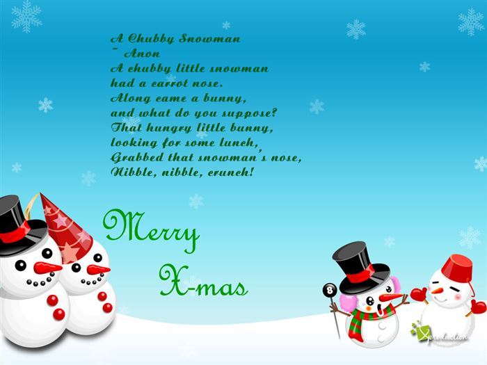 Free Funny Merry Christmas Poems For Kids