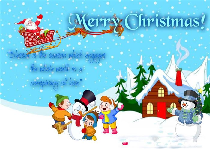 Short Funny Merry Christmas Quotes For Children