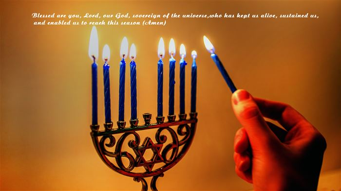 Inspirational Happy Hanukkah Blessings For First Night