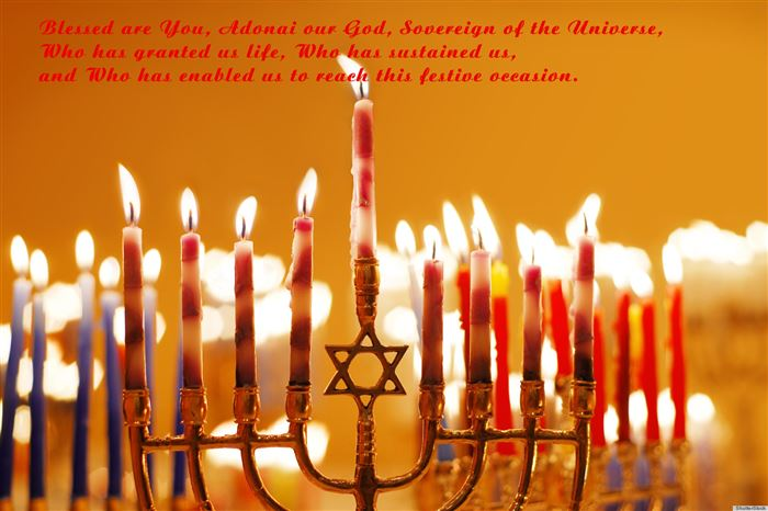 Famous Happy Hanukkah Blessings For First Night