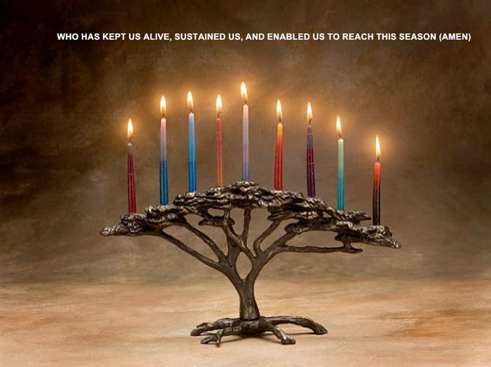 Unique Prayers Over Candles For Happy Hanukkah