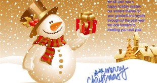 Meaningful Merry Christmas Greetings Messages For Business