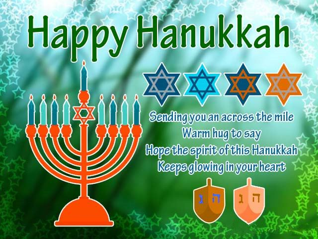 Short Happy Hanukkah Greeting Messages