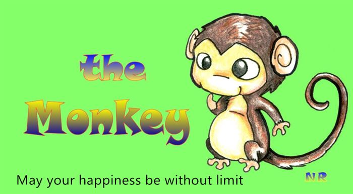 Short Chinese New Year Greetings Phrases Monkey