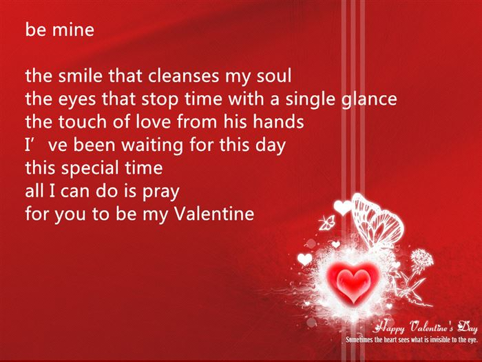 Famous Happy Valentine's Day Love Poems For Friends