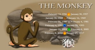 Free Greeting For Chinese New Year Monkey