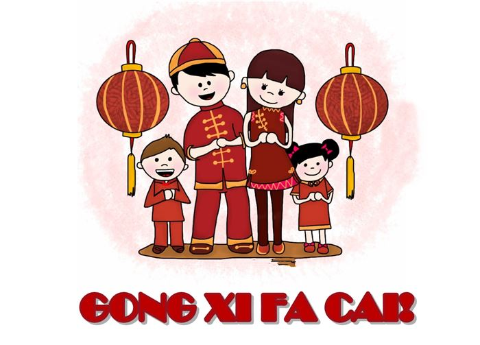 Easy To Write Chinese New Year Greetings In Chinese