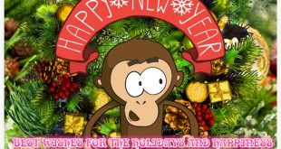 Meaningful Chinese New Year Monkey Wishes