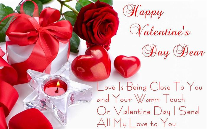 cute Happy St Valentines Day Picture Message