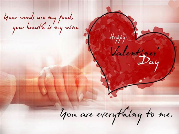 Romantic Happy Valentine's Day Messages For Him