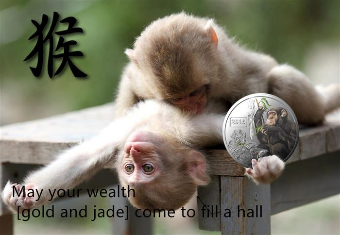 Meaningful Chinese New Year Wishes Greetings Monkey
