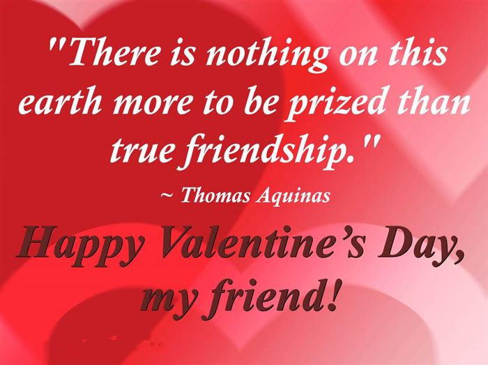 Meaningful Quotes About Happy Valentine's Day For Friends