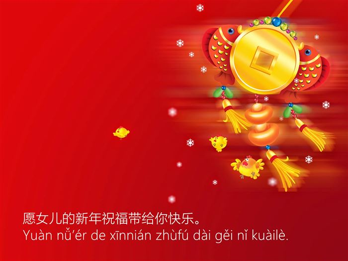 Simple Happy Chinese New Year Greetings In Mandarin