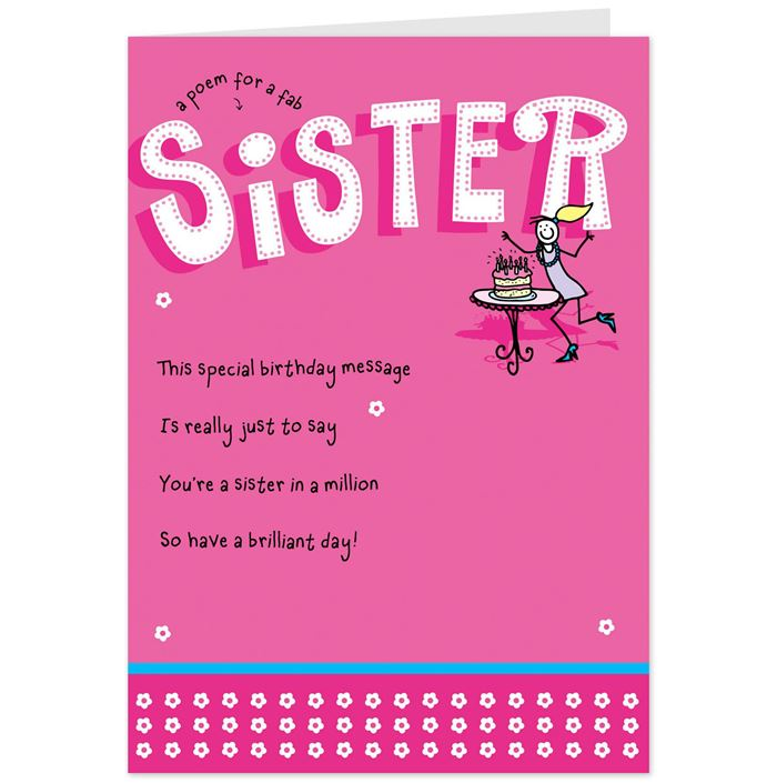 Best Funny Happy Birthday Messages For Sister