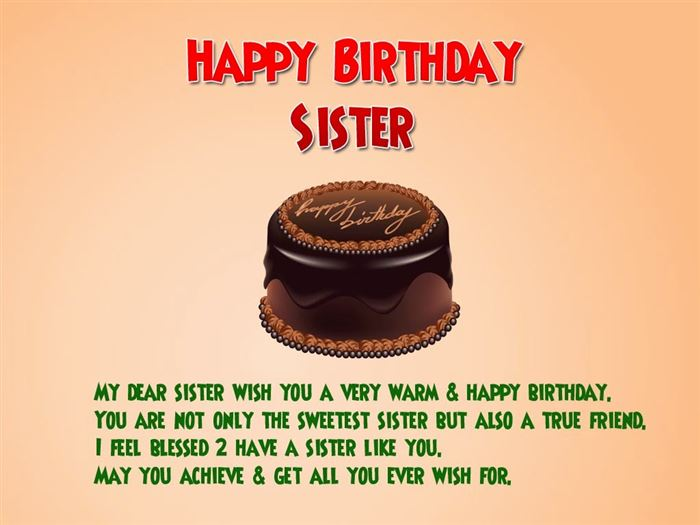 Meaningful Happy Birthday SMS Messages For Sister