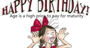 Funny Happy Birthday Messages For Wife