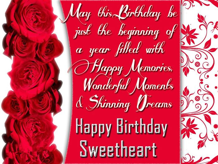 Romantic Happy Birthday Greetings Message For Husbands