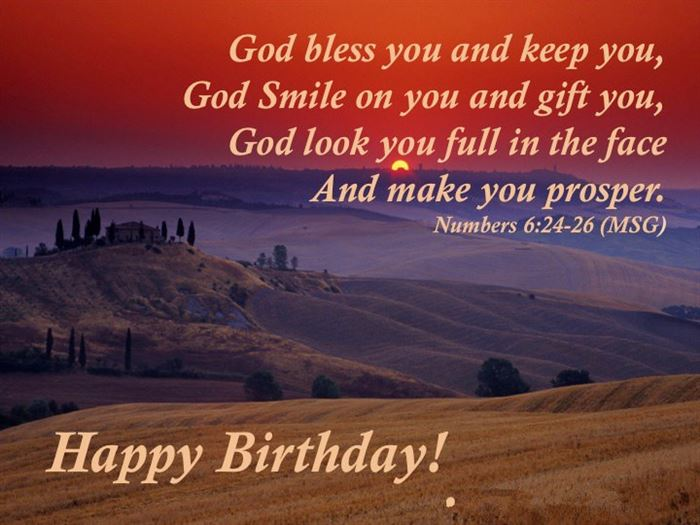 Best Christian Happy Birthday Greetings Messages For Friend