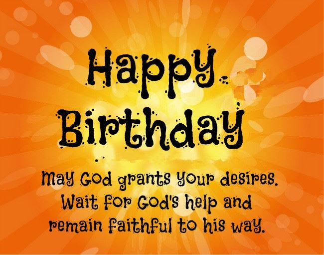 Unique Christian Happy Birthday Greetings Messages For Friend