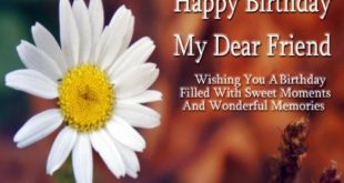 Best Happy Birthday Greetings Message For Friends