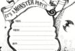 Best Printable Halloween Invitations Templates