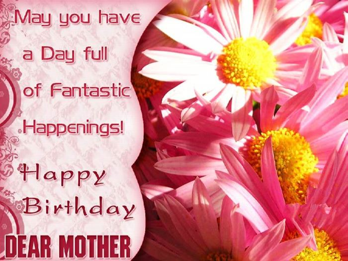 Lovely Happy Birthday Greetings Message For Mother