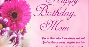 Meaningful Happy Birthday Greetings Message For Mother